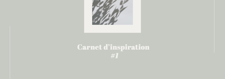 carnet d'inspiration