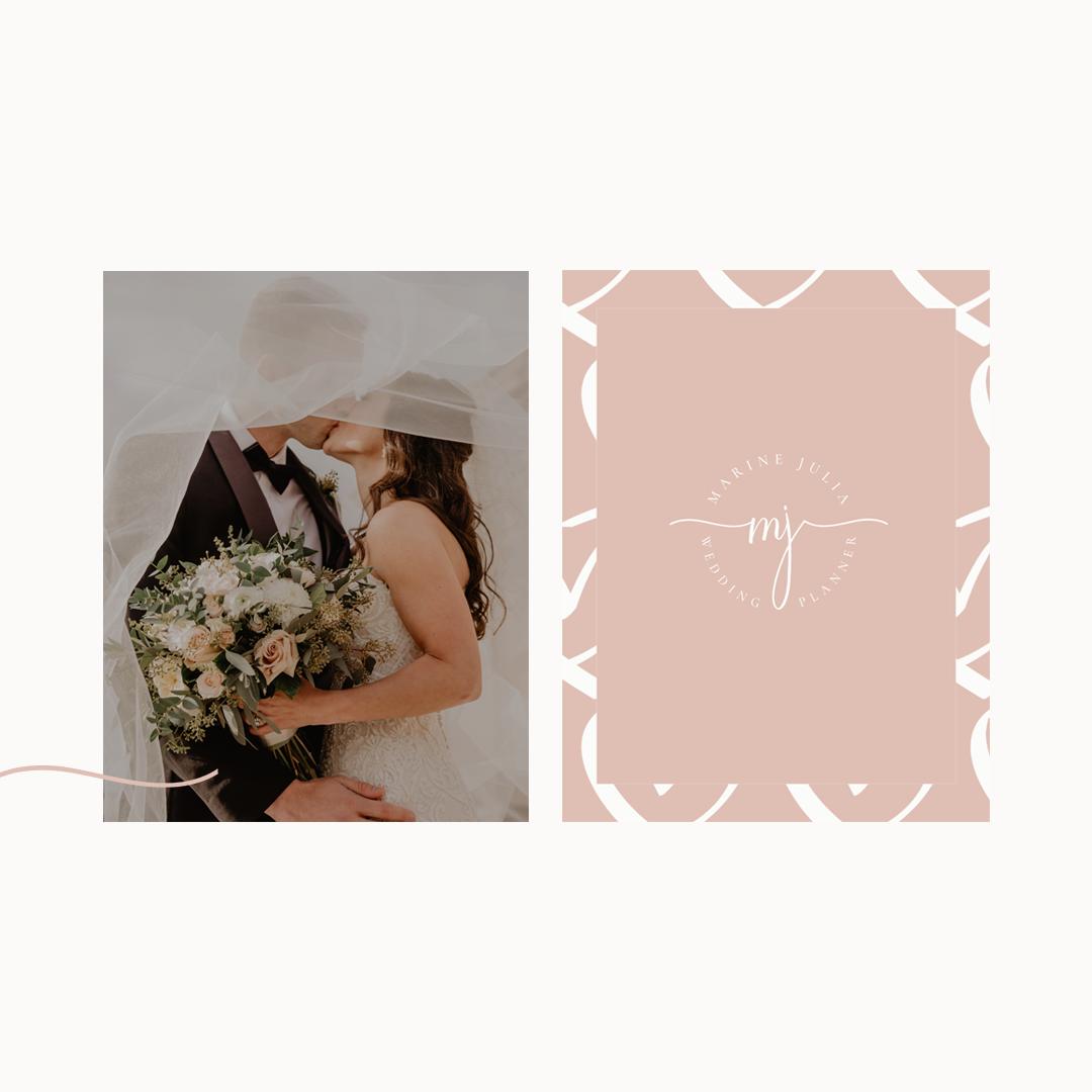identité visuelle wedding planner